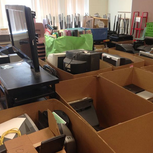 office clean up day announcement - Junk Removal Service Douglaston Beach Queens ny