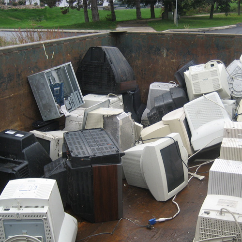tv recycling - Junk Removal Service Douglaston Beach Queens ny