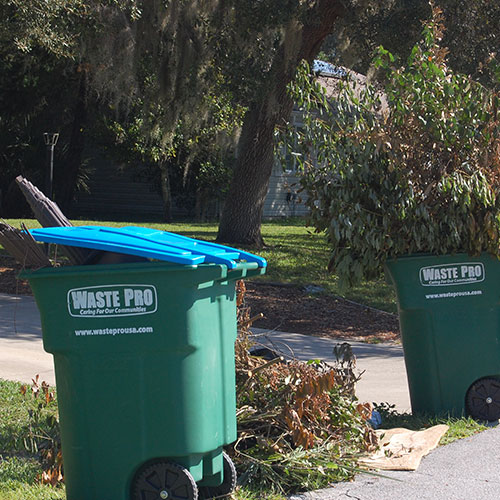 yard waste container - Junk Removal Service Douglaston Beach Queens ny