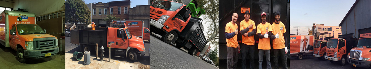 Flat rate junk removal services NY